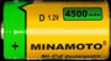 Minamoto D 4500mAh Ni-Cd